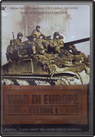 War in Europe, Volume 1