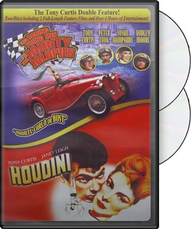 Tony Curtis Double Feature: Houdini (1953) (Full