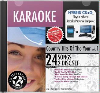 Country Hits of the Year (2-CD)