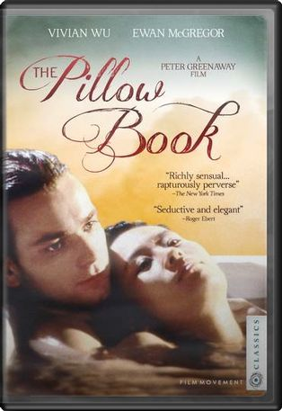The Pillow Book DVD (1996) Starring Ewan McGregor & Vivian ...