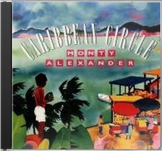 Monty Alexander Caribbean Circle Cd 1992 Chesky