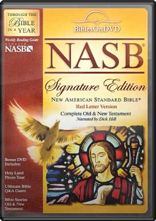 New American Standard Bible On DVD