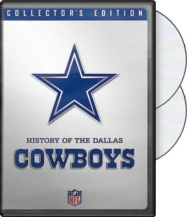 NFL History of the Dallas Cowboys (2-DVD)