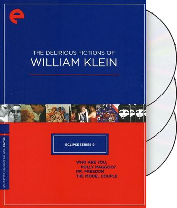 The Delirious Fictions of William Klein (3-DVD)