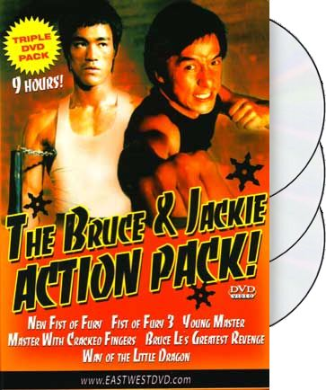 Bruce & Jackie Action Pack (New Fist of Fury /