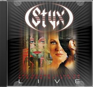 Grand Illusion / Pieces of Eight (Live) (2-CD)