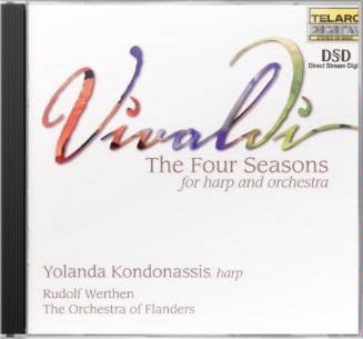 Vivaldi: The Four Seasons (for Harp and Orchestra)