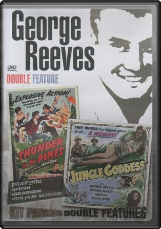 George Reeves - Thunder in the Pines / Jungle