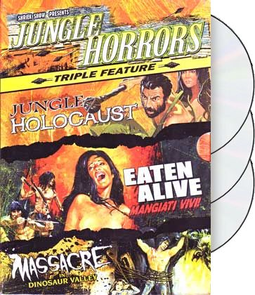 Jungle Horrors Triple Feature (3-DVD)