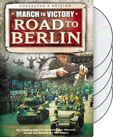 Road to Berlin: March to Victory (5-DVD -