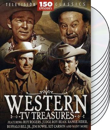 Western TV Treasures: 150 Episode Collection
