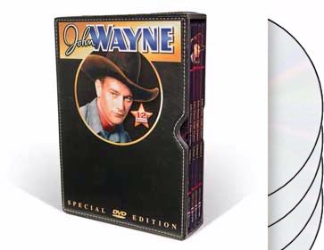 John Wayne Triple Feature Collection (4-DVD