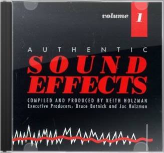 Authentic Sound Effects, Volume 1 (2-CD)