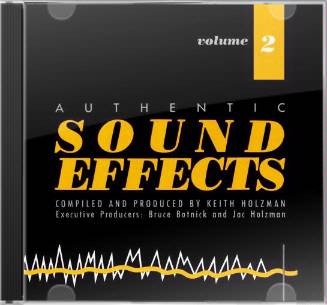 Authentic Sound Effects, Volume 2