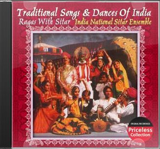Traditional Songs And Dances of India - Ragas