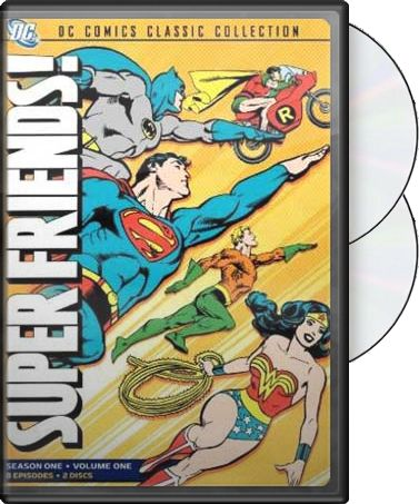 Superfriends - Season 1 - Volume 1 (2-DVD)