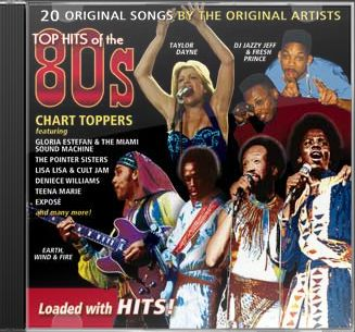 Top Hits of the 80s - Chart Toppers CD (2008 ...