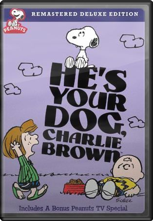 He S Your Dog Charlie Brown Dvd