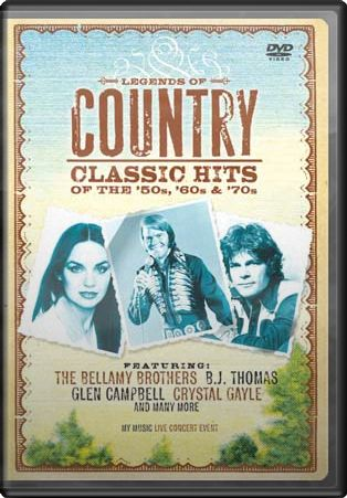 Legends of Country: Classics Hits of the '50s,