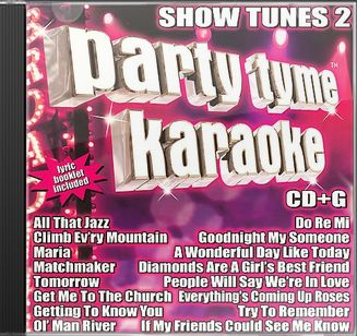 Party Tyme Karaoke: Show Tunes, Volume 2
