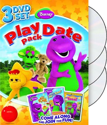 Barney - Play Date Pack (3-DVD)