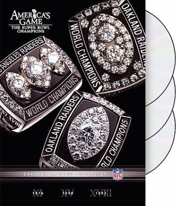 NFL America's Game: Oakland Raiders (3-DVD)