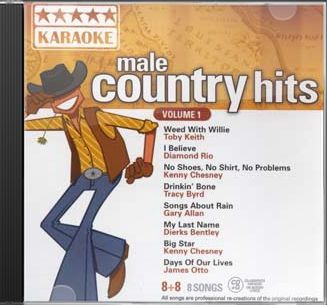 Male Country Rock Hits, Volume 1