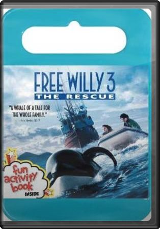 Free Willy 3: The Rescue (P&S, With Book)