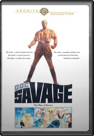 Doc Savage: The Man of Bronze (Widescreen)
