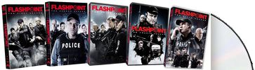 Flashpoint - Seasons 1-5 (12-DVD)
