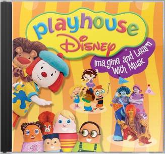 Playhouse Disney Imagine & Learn With Music