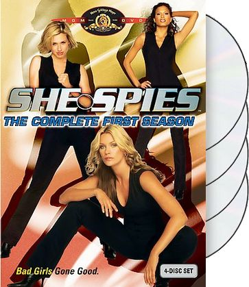 She Spies - Complete 1st Season (4-DVD)