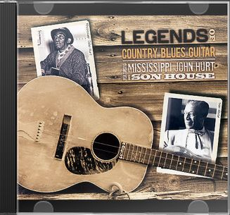 Legends of Country Blues, Volume 1 (3-CD)