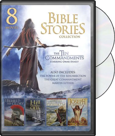 Bible Stories Collection (2-DVD)