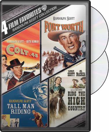 Randolph Scott: 4 Film Favorites (Colt .45 / Fort