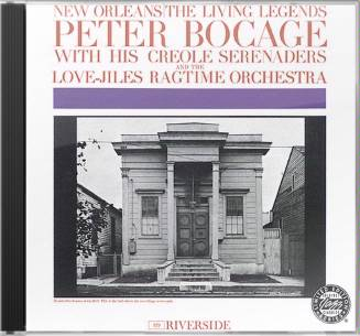Peter Bocage with the Creole Serenaders & The