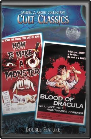 How To Make A Monster (1957) / Blood of Dracula
