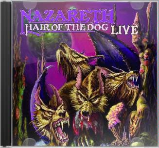 Nazareth Hair Of The Dog Live Cd 2007 Cleopatra