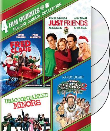 4 Film Favorites: Holiday Comedy Collection (Fred