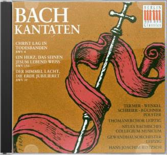 Bach: Easter Cantatas: Christ Lag in Todesbanden,