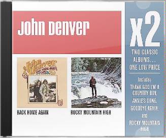 Rocky Mountain High / Back Home Again (2-CD Box