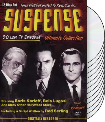 Suspense - Ultimate Collection (12-DVD)