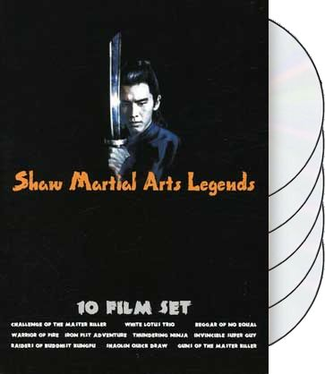 Shaw Martial Arts Legends: 10-Film Set (5-DVD)