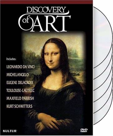 Art - Discovery of Art Box Set (6-DVD)