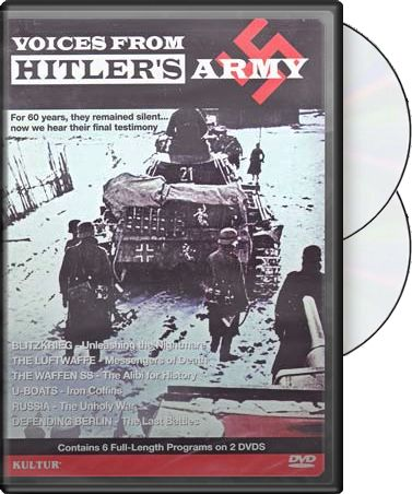 Voices from Hitler's Army (2-DVD)