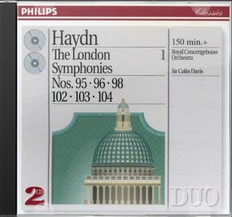 Haydn: London Symphonies Volume 1