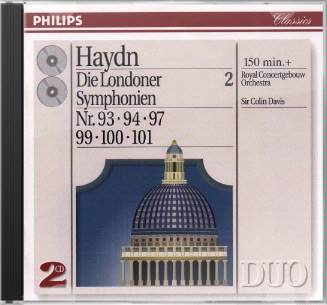 Haydn: The London Symphonies, Volume 2