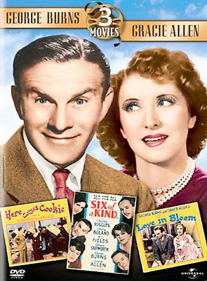 George Burns Triple Feature (Here Comes Cookie /