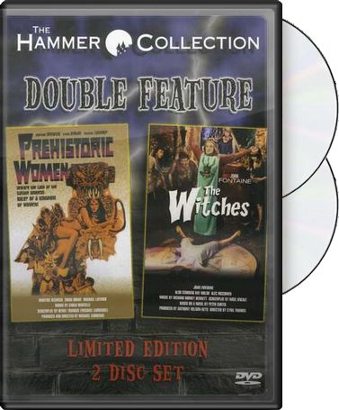Prehistoric Women / The Witches 2-Pack (2-DVD)