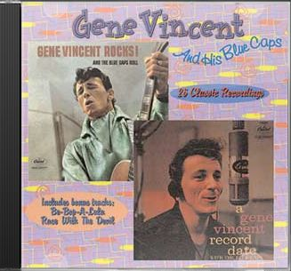 Gene Vincent Rocks & The Blue Caps Roll / A Gene